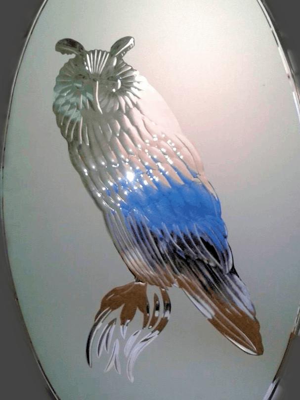 Brilliant-cut owl