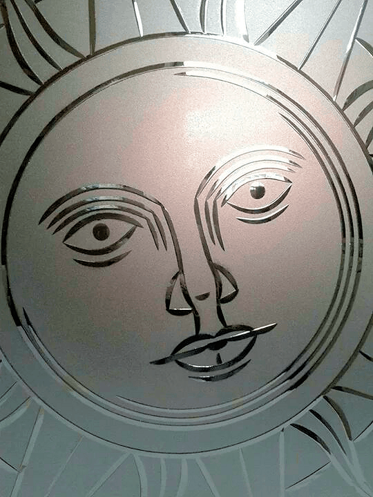 Brilliant-hiottu aurinko