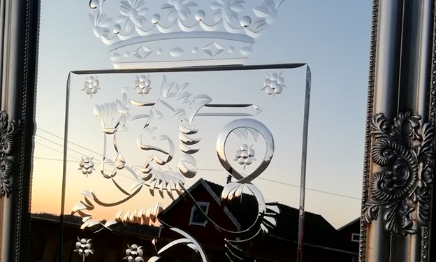 Suomen vanha valtakunnan vaakuna peili